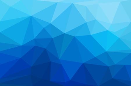 多角形の幾何学的な背景を抽象化します。イラストとベクター