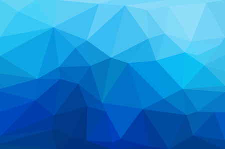 Abstract polygon geometric background. Vector and illustration Ilustracja