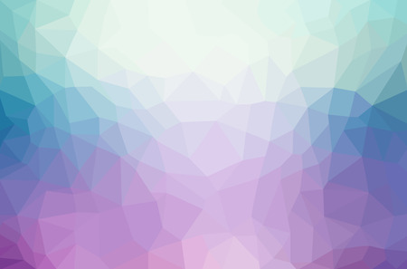 Abstract polygon geometric background. Vector and illustration Фото со стока - 41672458