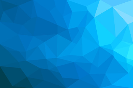 Abstract polygon geometric background. Vector and illustration  イラスト・ベクター素材