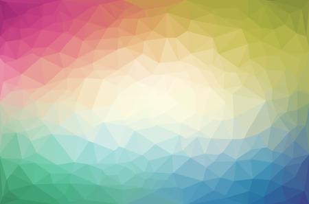 Abstract veelhoek geometrische achtergrond. Vector en illustratie Stock Illustratie