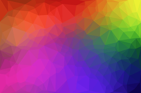 color background: Abstract polygon geometric background. Vector and illustration Illustration