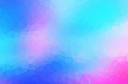 Abstract polygon geometric background.  矢量图像