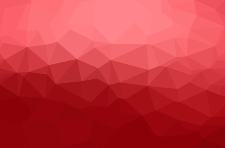 Abstract polygon geometric background. Vector and illustration Stock Illustratie