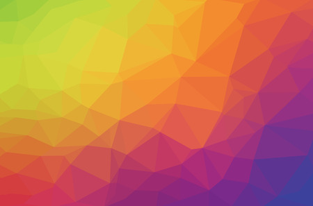 Abstract polygon geometric background. Vector and illustration 일러스트