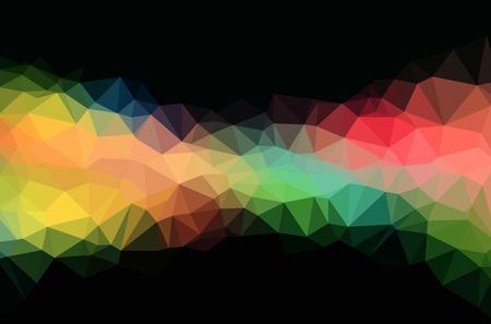 Abstract polygon geometric background. Vector and illustration Ilustração Vetorial