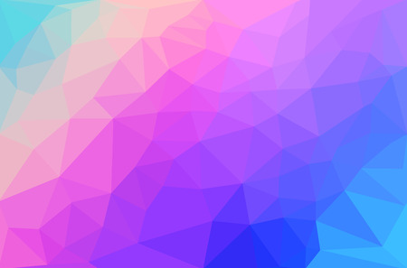 illustration abstract: Abstract polygon geometric background. Vector and illustration Illustration