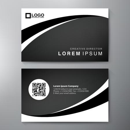 business card template: Modern Business card Design Template.