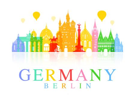 Deutschland, Berlin reisen Wahrzeichen.