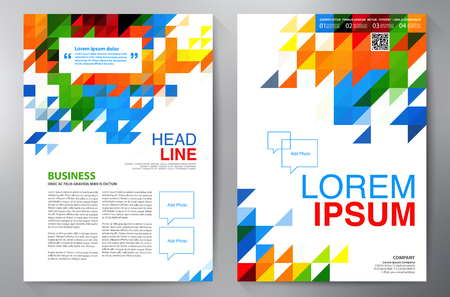 a4: Brochure design a4 template
