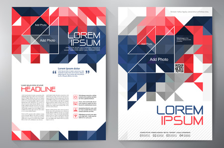 leaflets: Brochure design a4 template