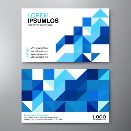 modern business: Modern Business card Design Template.