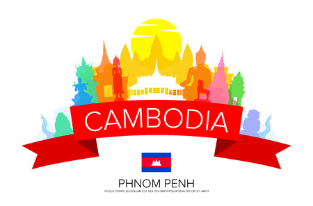 wat: Cambodia Travel,  Phnom Penh Travel, Landmarks.