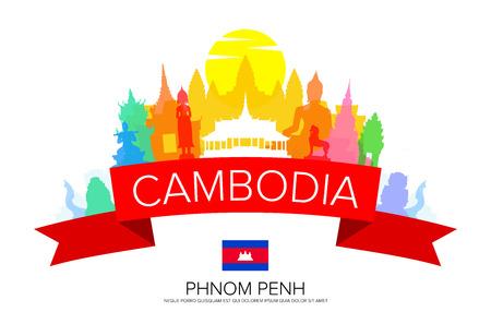 Cambodia Travel, Phnom Penh Travel, Landmarks.