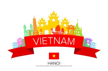 베트남 여행, 하노이 여행, 랜드 마크.