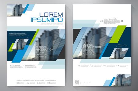 Zakelijke brochure ontwerp a4 sjabloon