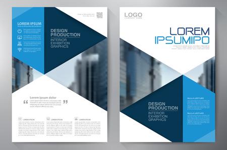 brochure Affari modello di progettazione a4