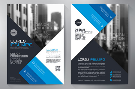 a4: Business brochure design a4 template