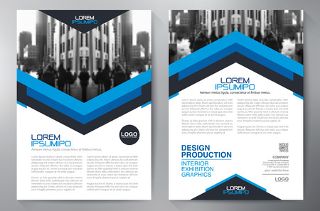ビジネス パンフレット デザイン a4 テンプレート