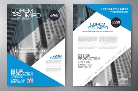 a4 plantilla de diseño del folleto del asunto
