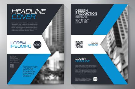 brochure d'affaires modèle design a4 Vecteurs