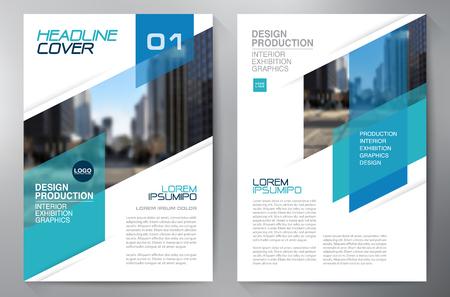 Business brochure flyer design a4 template. Vector illustration Reklamní fotografie - 59728395