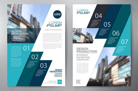 folder: Business brochure design a4 template