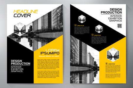 blatt: Business brochure design a4 template