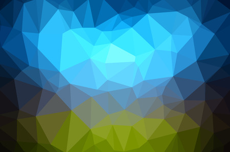Abstract polygon geometric background. Vectores