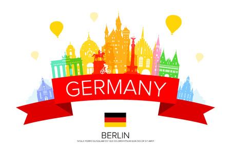 Deutschland, Berlin Reise Wahrzeichen