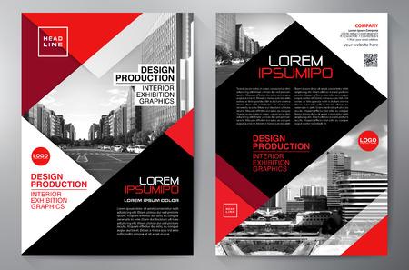 Business Brochure. Flyer Design. Leaflets a4 Template.