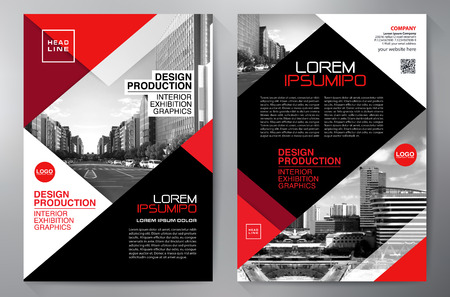 leaflets: Business Brochure. Flyer Design. Leaflets a4 Template.
