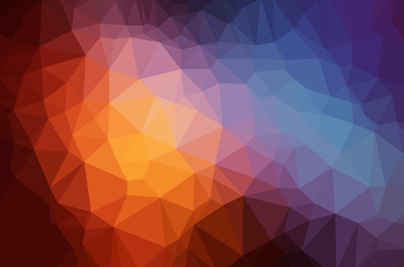 diamond shape: Abstract polygon geometric background. Vector and illustration Illustration