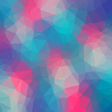 Abstract polygon geometric background. Vector and illustration Illustration