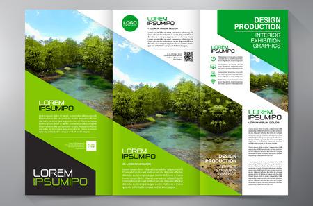 Brochure aziendali. Vettoriali