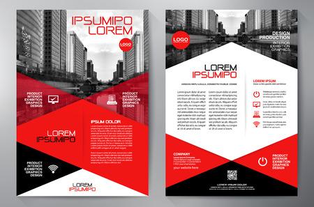 Business Brochure Design vector illustration
