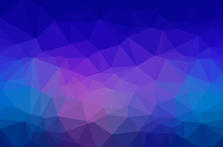 Abstract polygon geometric background. Illustration