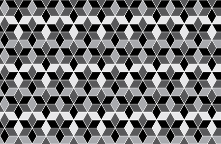 Hexagon pattern background. Vector and illustrator