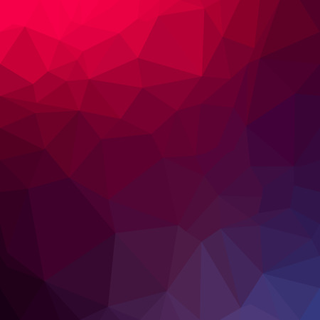 Abstract polygon geometric background. Vector and illustration Ilustrace