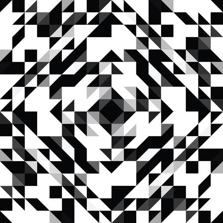 Triangle geometric shapes.