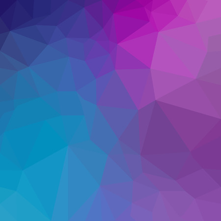 Abstract polygon geometric background. Ilustrace