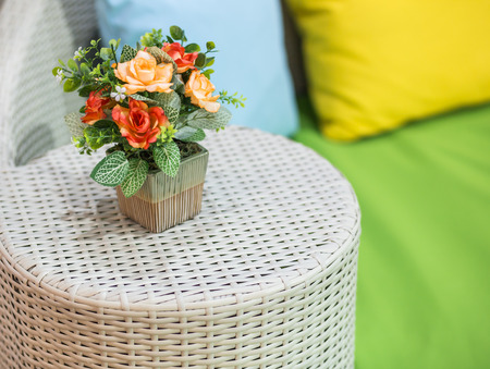relent: Flower in relax corner