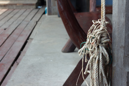 hitch: Knot rope hitch