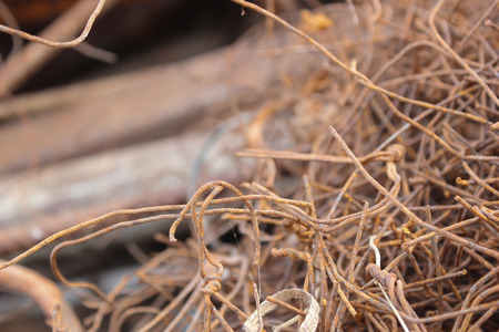 grabber: Scrap metals Stock Photo