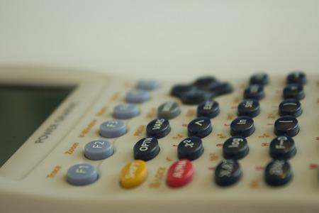 reckon: science calculator Stock Photo
