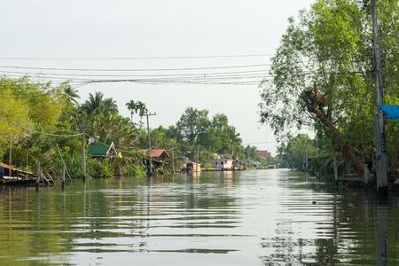amphawa: Landscape at the River, Waterfront  at Amphawa
