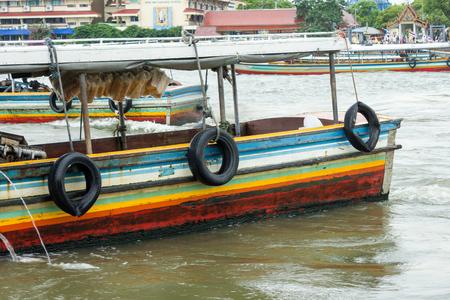 praya: landscape Chow Praya river Bangkok Thailand