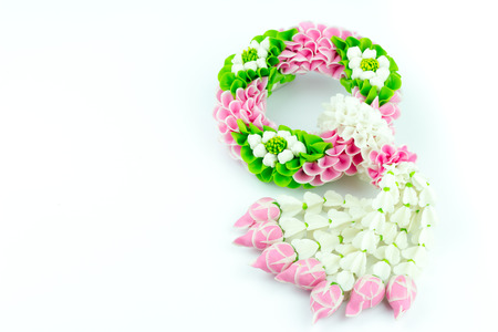 Flower Garland In Thailand A Symbol For Mother Day In Thailand