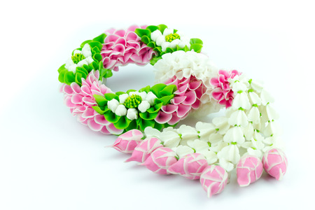 Thai Traditional Jasmine Garlandmbol Of Mothers Day In Thailand