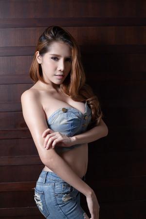 xwhite: Young beautiful asian woman model sexy